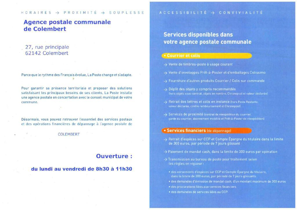 thumbnail of AGENCE POSTALE COMMUNALE (2)