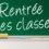 Rentrée des Classes Mardi 2 Septembre