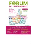 Forum de l'engagement le 06 Avril 2018