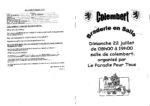 22 Juillet : Braderie en salle proposée par Le Paradis pour tous