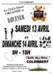 Samedi 13 et 14 avril : Braderie Baby Junior