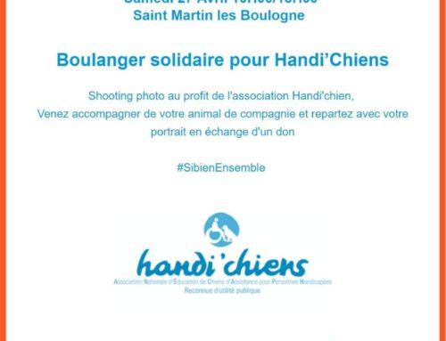 Boulanger solidaire pour Handi'Chiens