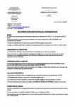 Bulletin corona virus