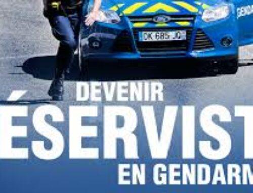 Engagement dans la réserve Opérationnelle de la Gendarmerie