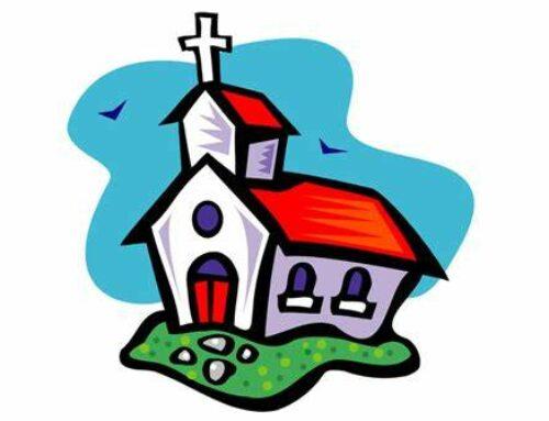 Grand ménage de l'église de notre village