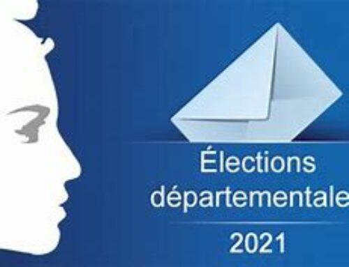 Résultats élections départementales