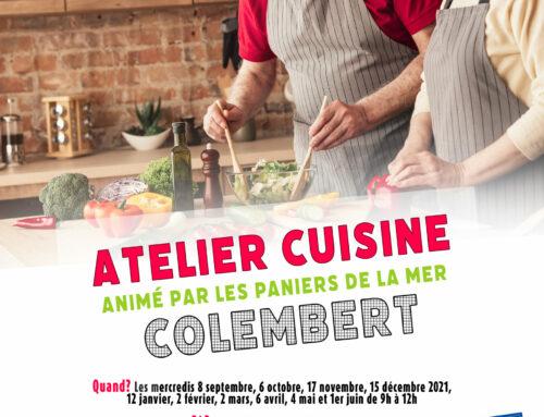 Atelier cuisine : Colembert